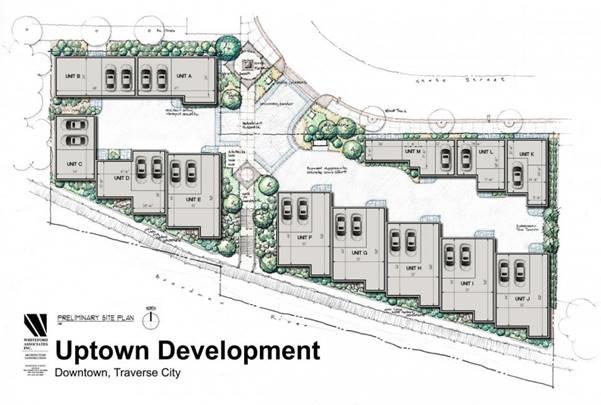 Brownfield Development Success - Uptown Development – Traverse City, Michigan