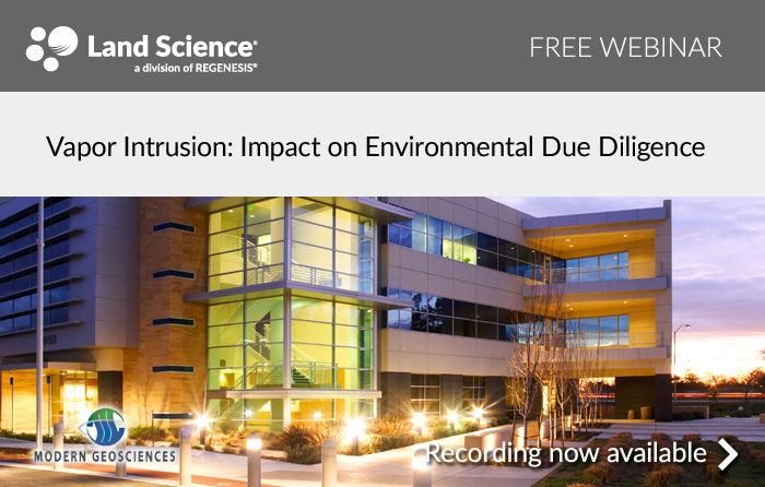 Vapor Intrusion: Impact on Environmental Due Diligence